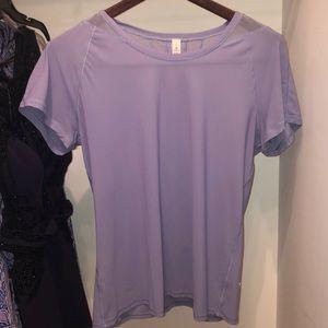 Lavender nylon T-shirt